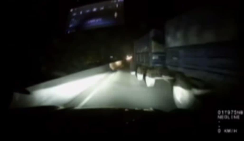 В Ташобласти Tracker столкнулся с трактором