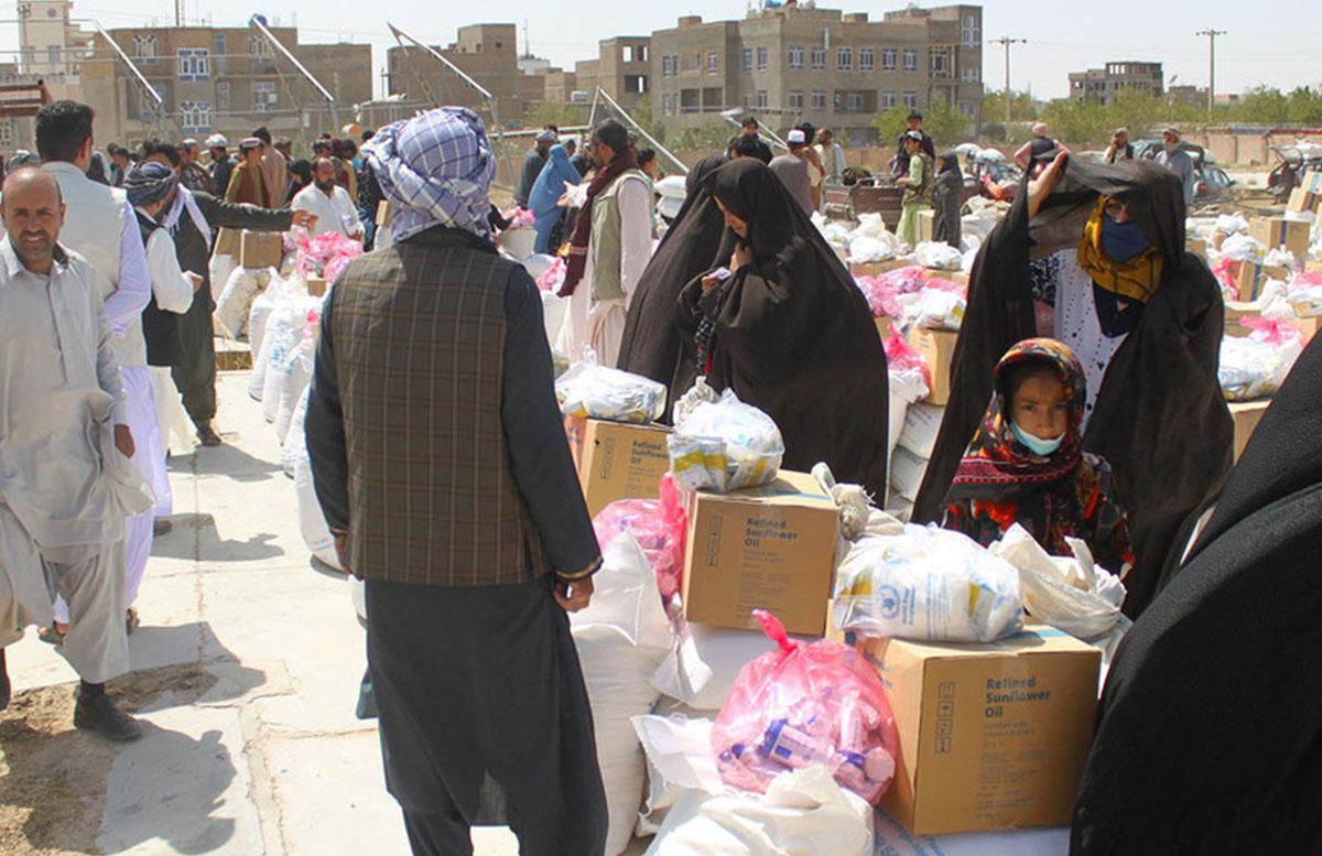 Афганистан будет получать гуманитарную помощь от США