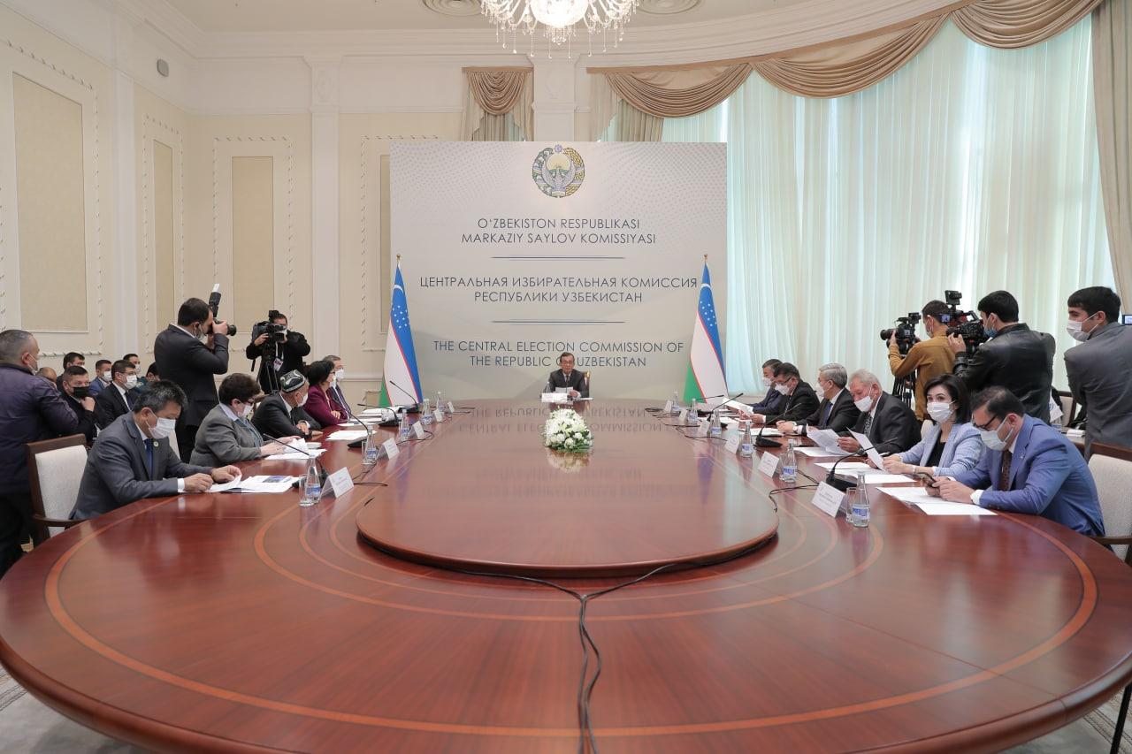 Процесс выборов президента Узбекистана будут транслировать онлайн