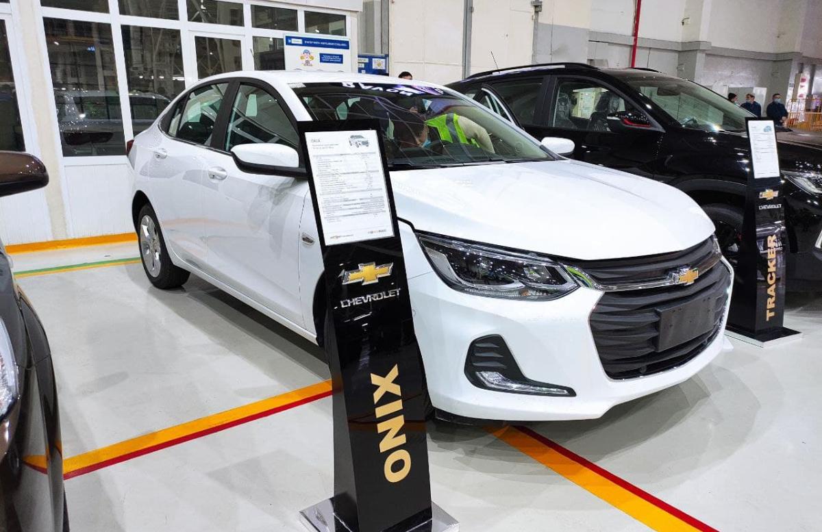 Названа дата старта продаж Chevrolet Onix