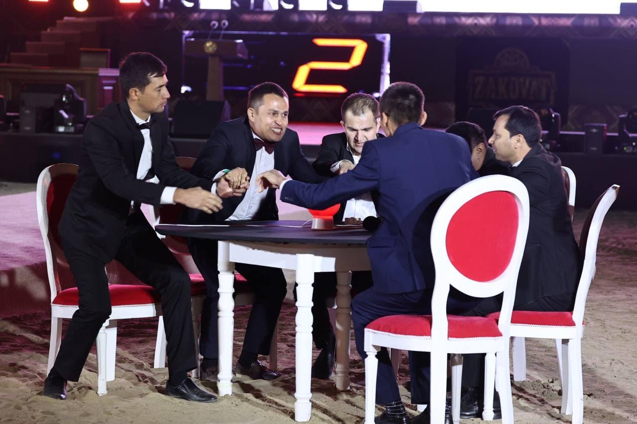 Президент наградил победителей игры Zakovat