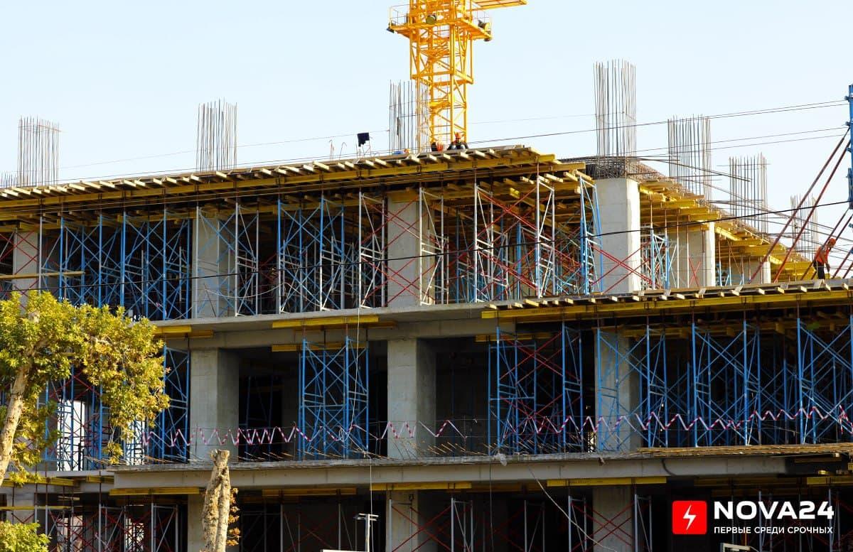 Названа сумма строительных работ выполненных в Узбекистан за девять месяцев