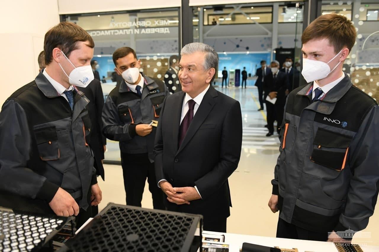 Пять лет назад мало кто из молодых людей имел доступ к таким центрам и лабораториям, — президент