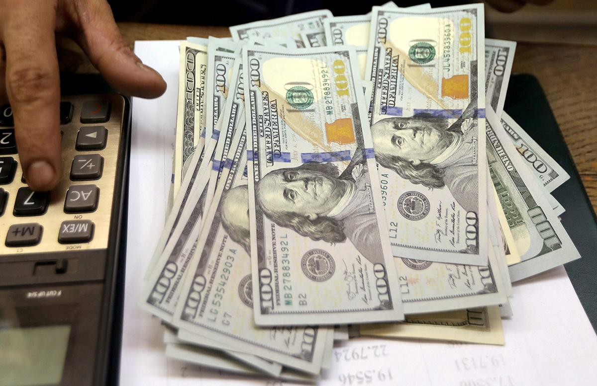 Доллар немного сбавил обороты
