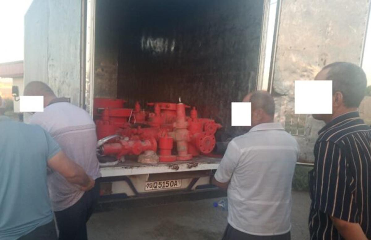 В Кашкадарье мужчина пытался продать имущество нефтегазоперерабатывающего управления