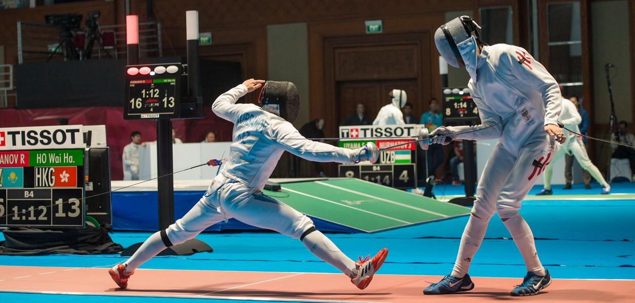 Выяснилось, с кем будут соперничать фехтовальщики Узбекистана на Олимпиаде