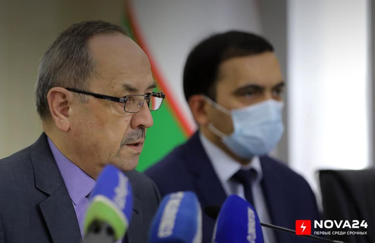 Нурмат Отабеков объяснил причину обязательной сдачи теста на COVID перед госпитализацией