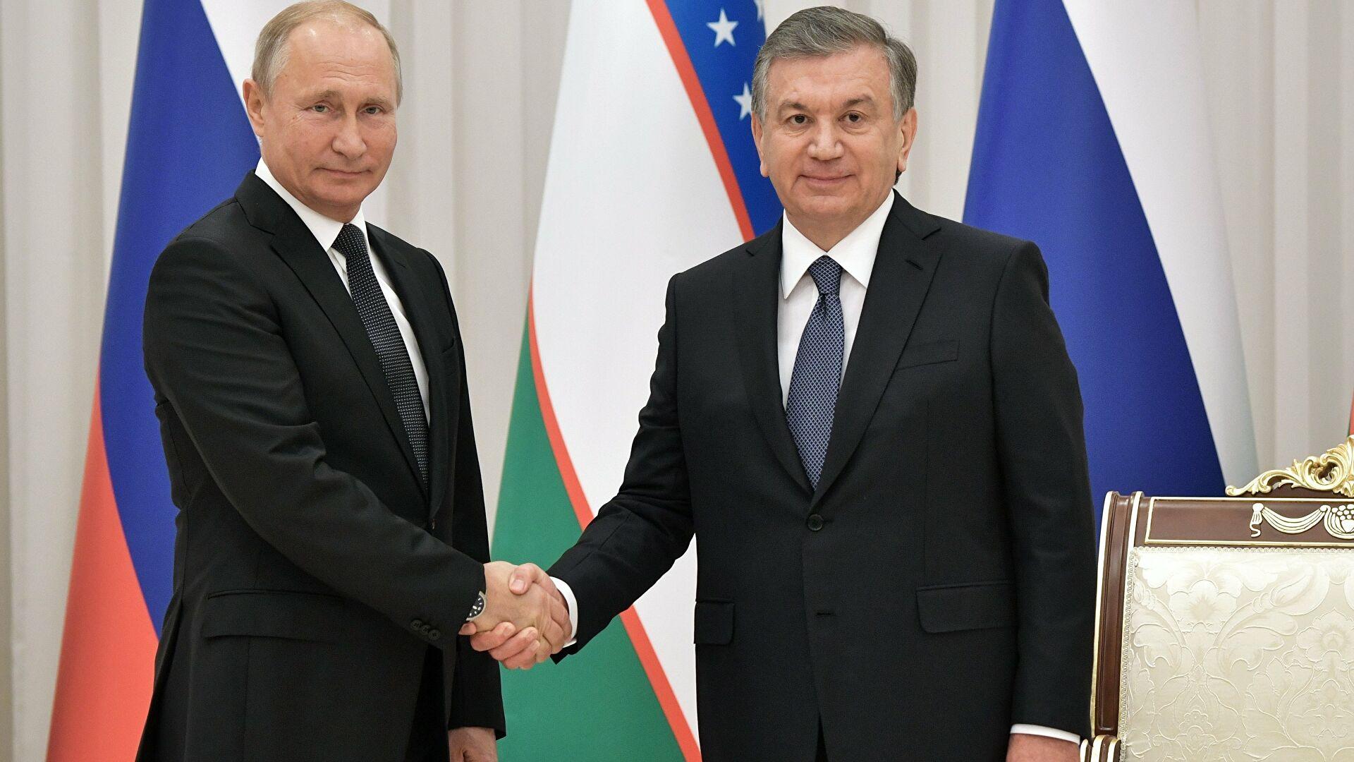 Шавкат Мирзиёев и Владимир Путин обсудили ситуацию с Афганистаном