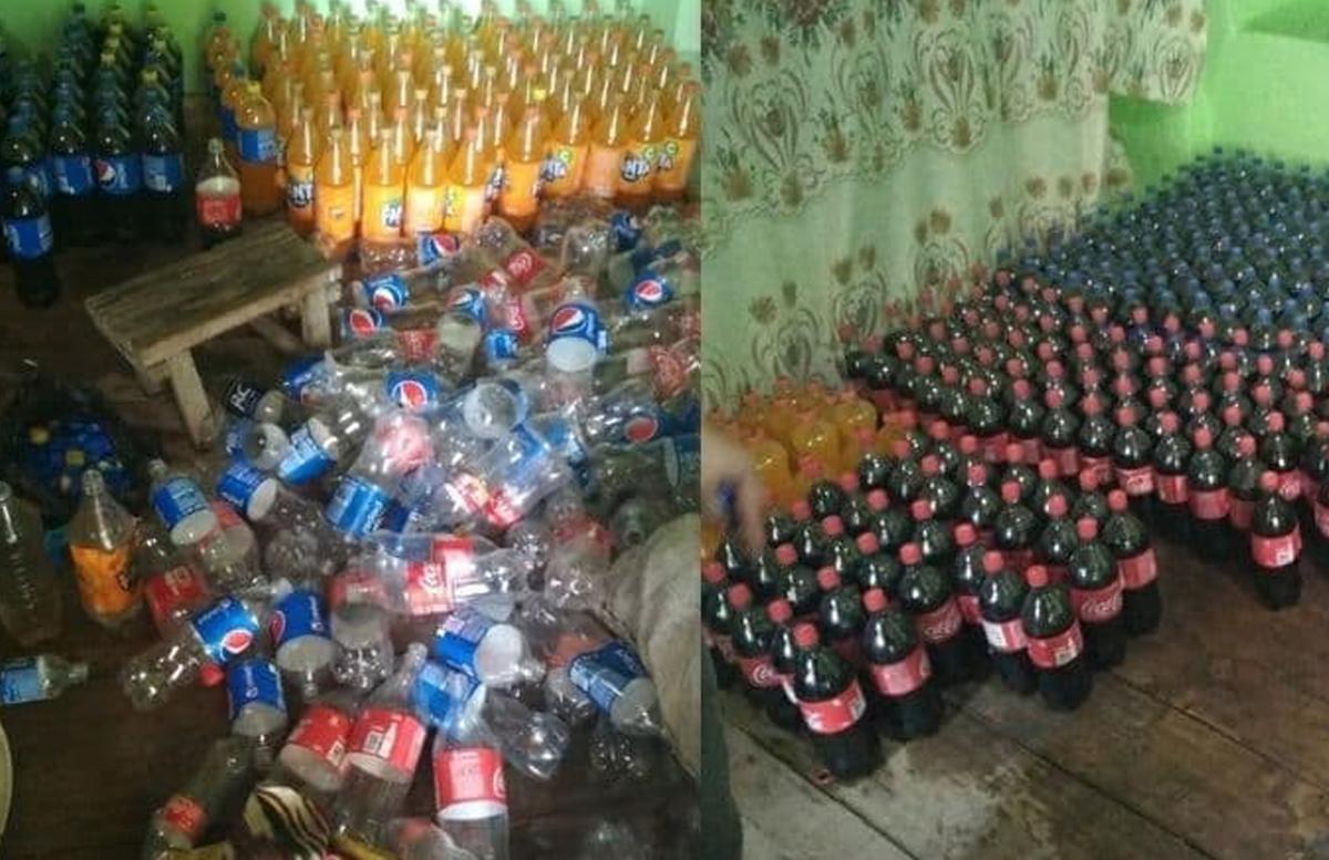 В Узбекистане выявили подпольный цех по производству Coca-Cola и Pepsi