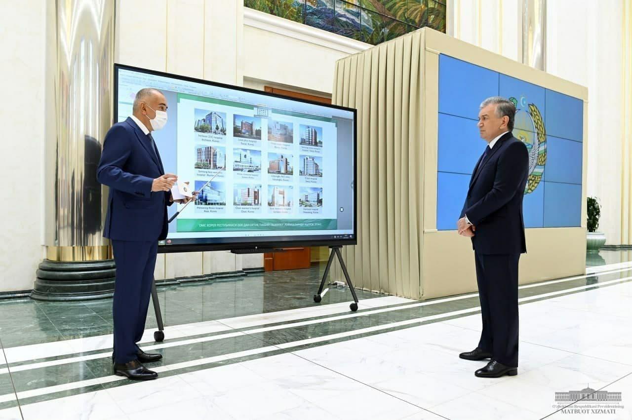 Президенту презентовали несколько крупных строительных проектов