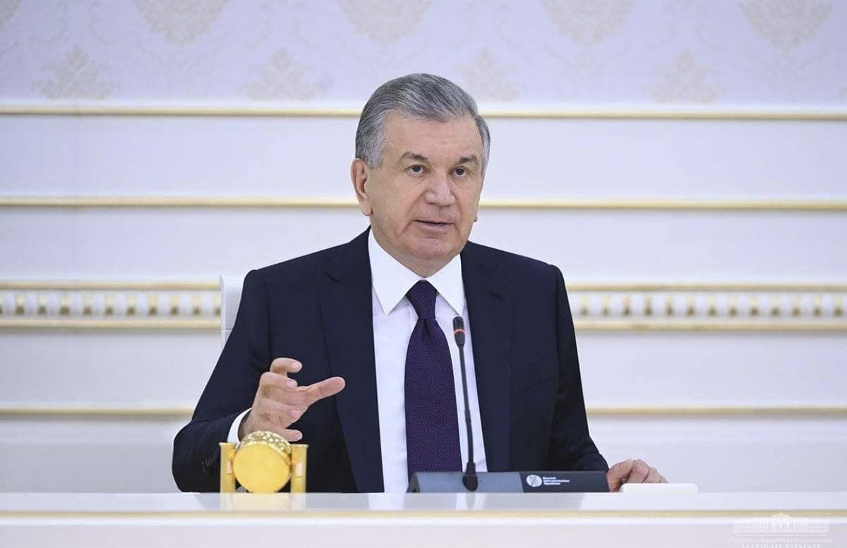 «Нам нужно научиться жить с этим вирусом уже сейчас», — Шавкат Мирзиёев