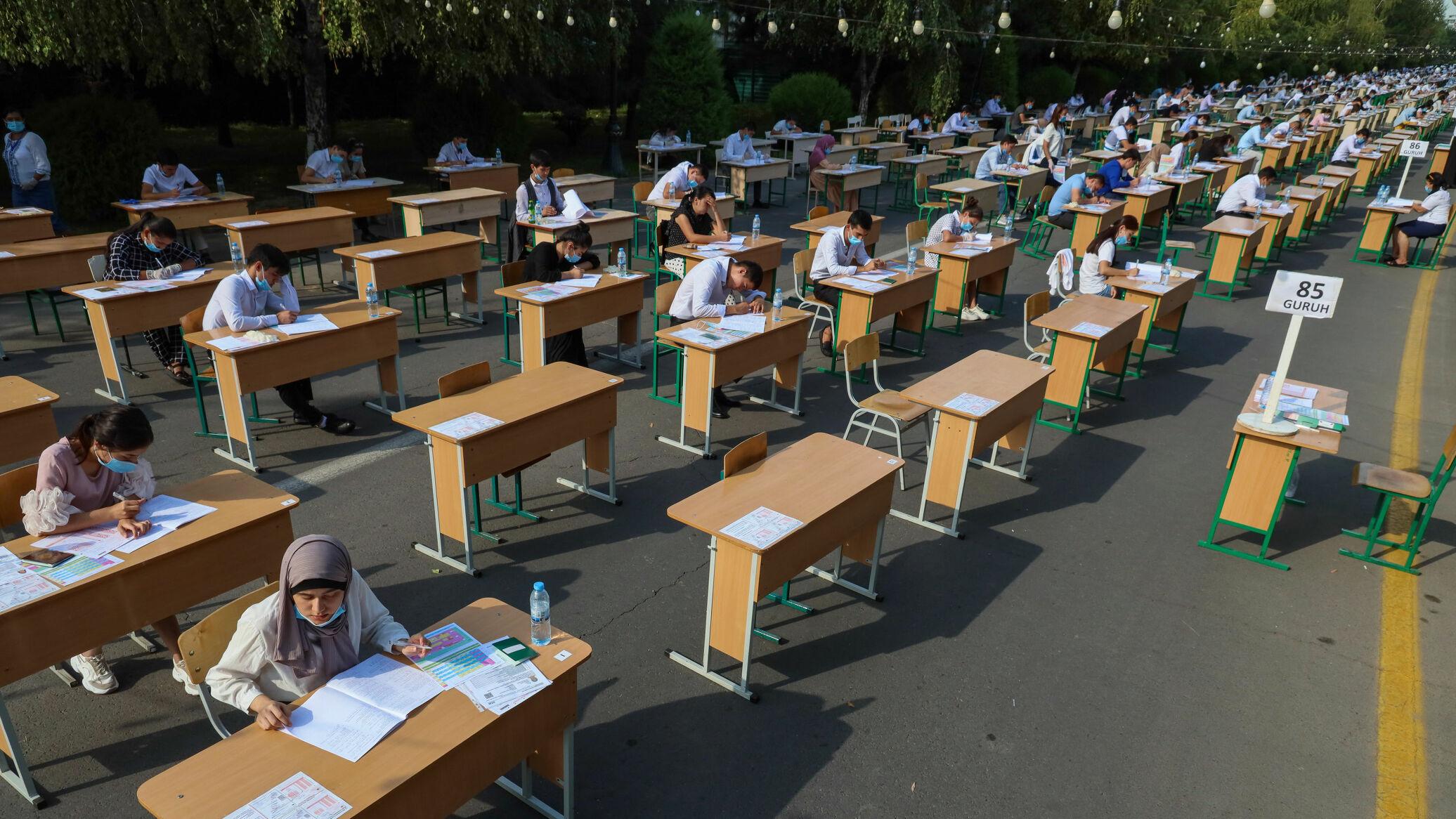 Стала известна дата выдачи пропусков на вступительные экзамены в вузы республики