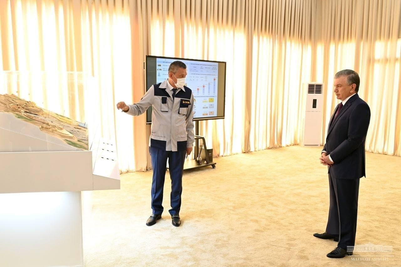 На Алмалыкском комбинате реализуется проект стоимостью более 4 миллиарда долларов