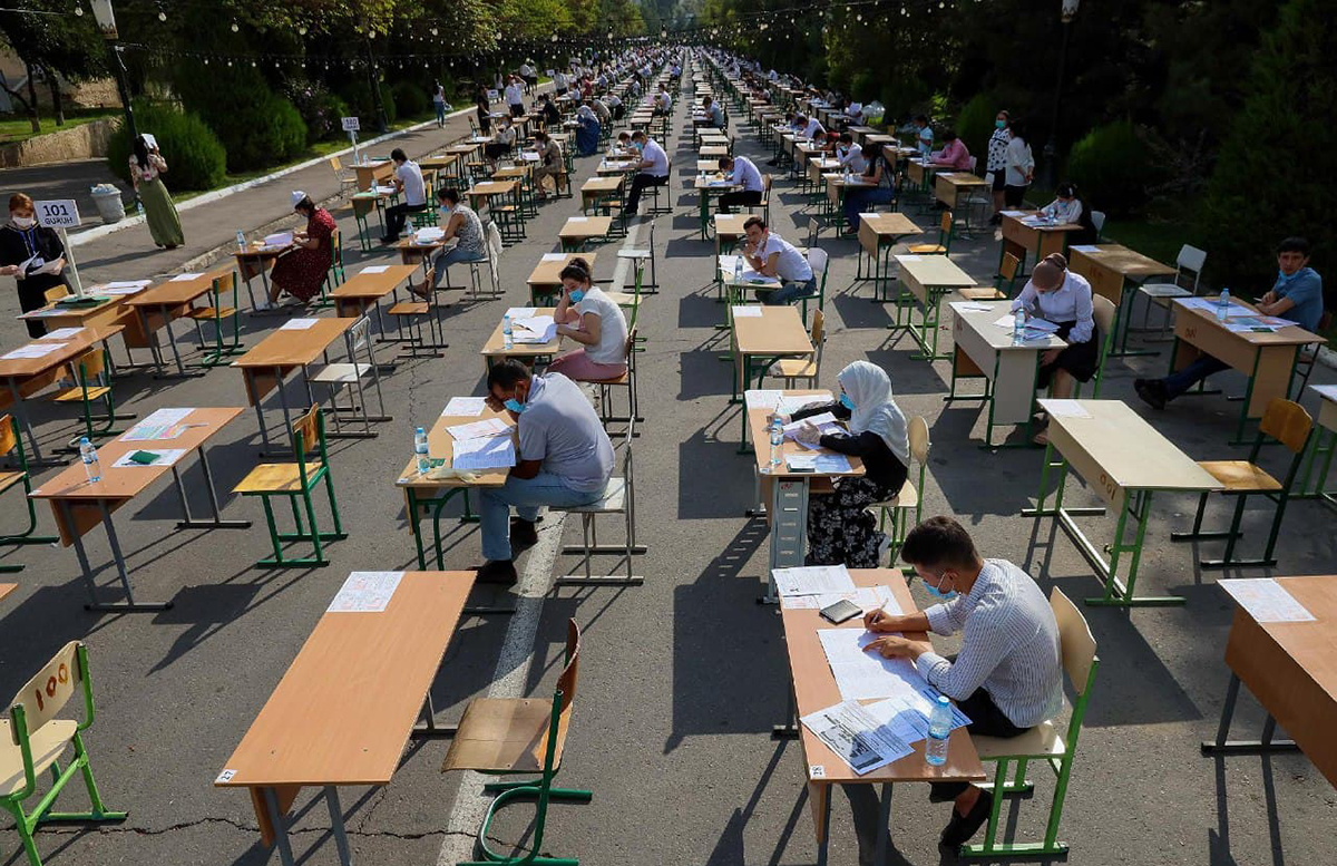 Стало известно о среднем распределении тестовых заданий вступительного экзамена