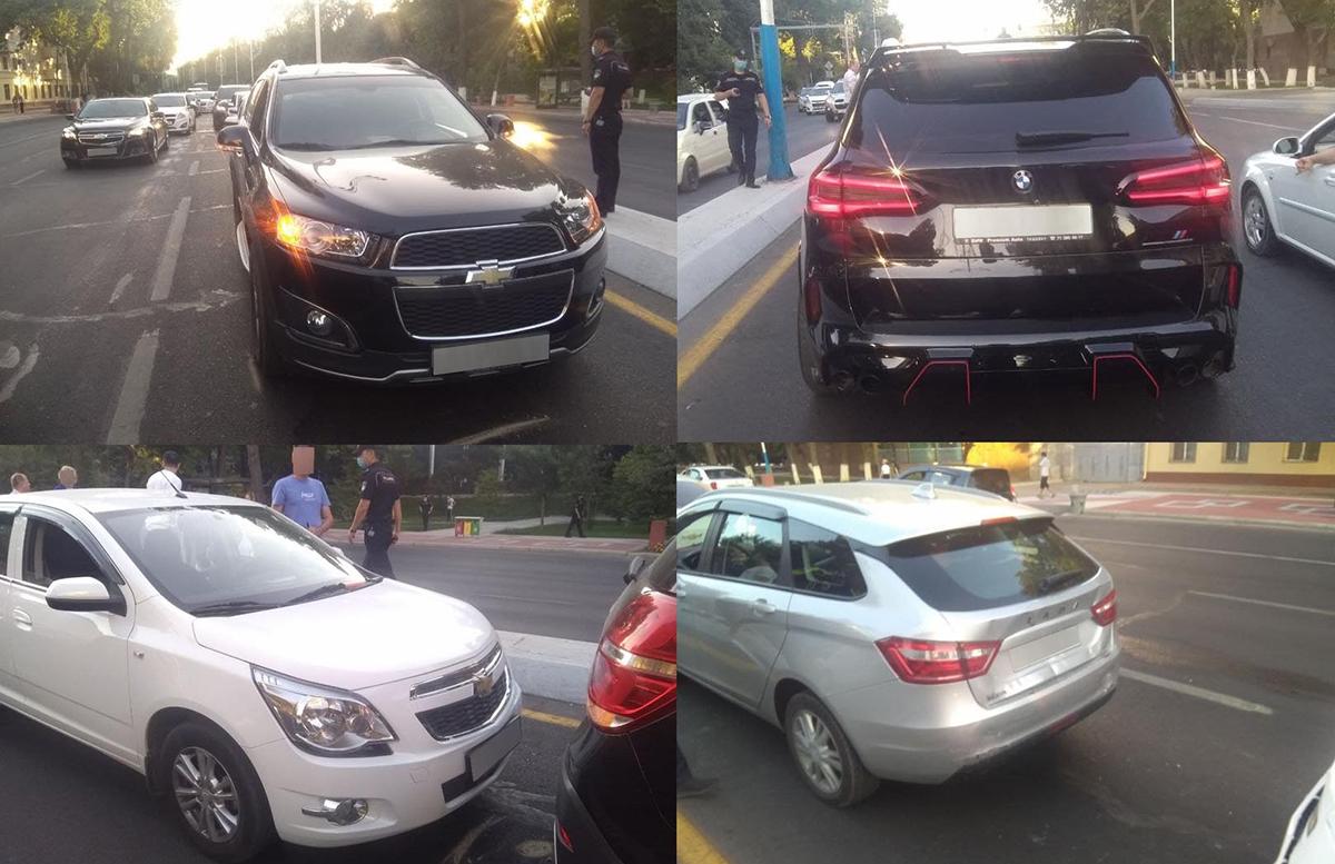 «Цепная реакция»: В столице несколько автомобилей врезались друг за другом