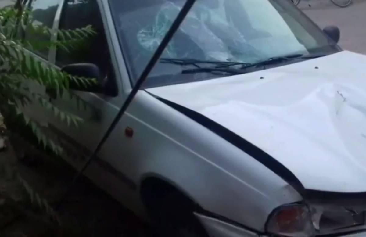 В Кашкадарье водитель насмерть сбил пешехода и скрылся — видео