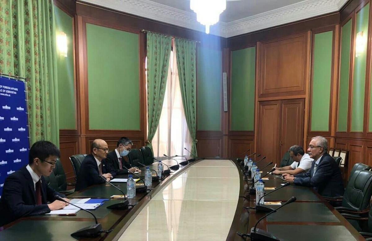 Узбекистан и Япония обсудили расширение сотрудничества на афганском направлении