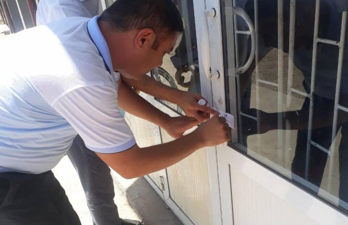 В Ташкентской области налоговики конфисковали имущество у некоторых должников