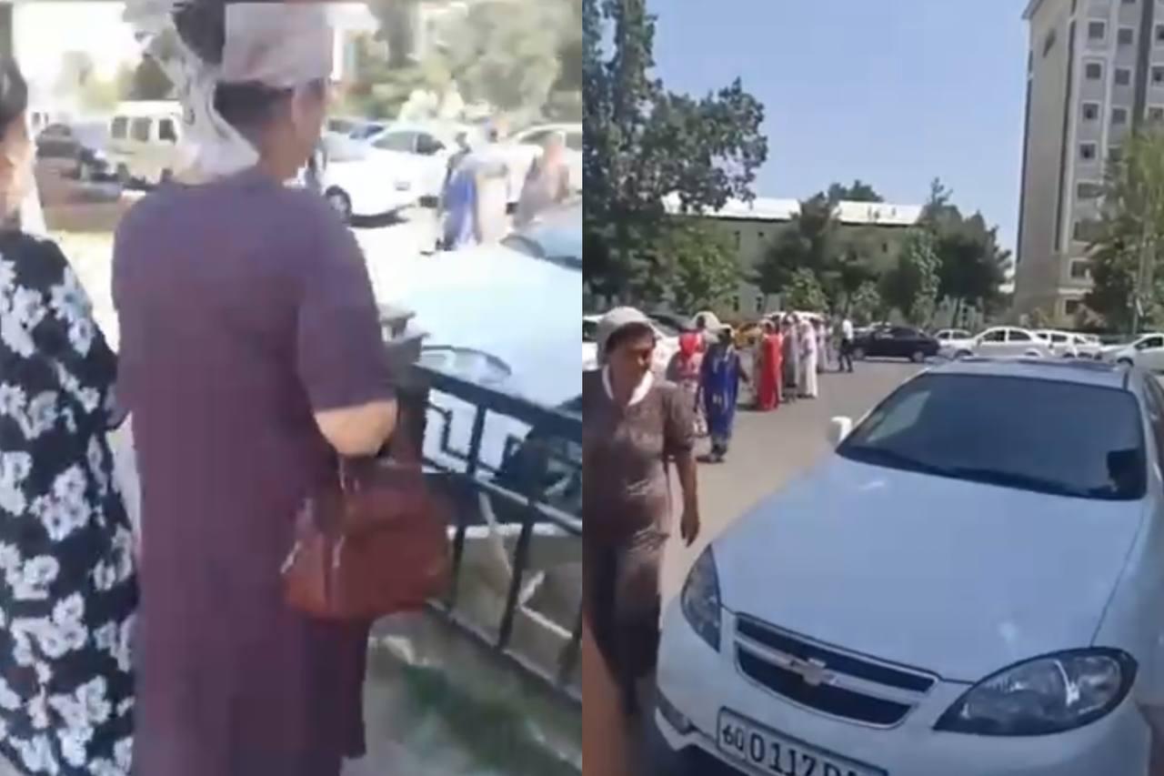 Стало известно, как наказали женщин, перекрывших дорогу в знак протеста в Андижане