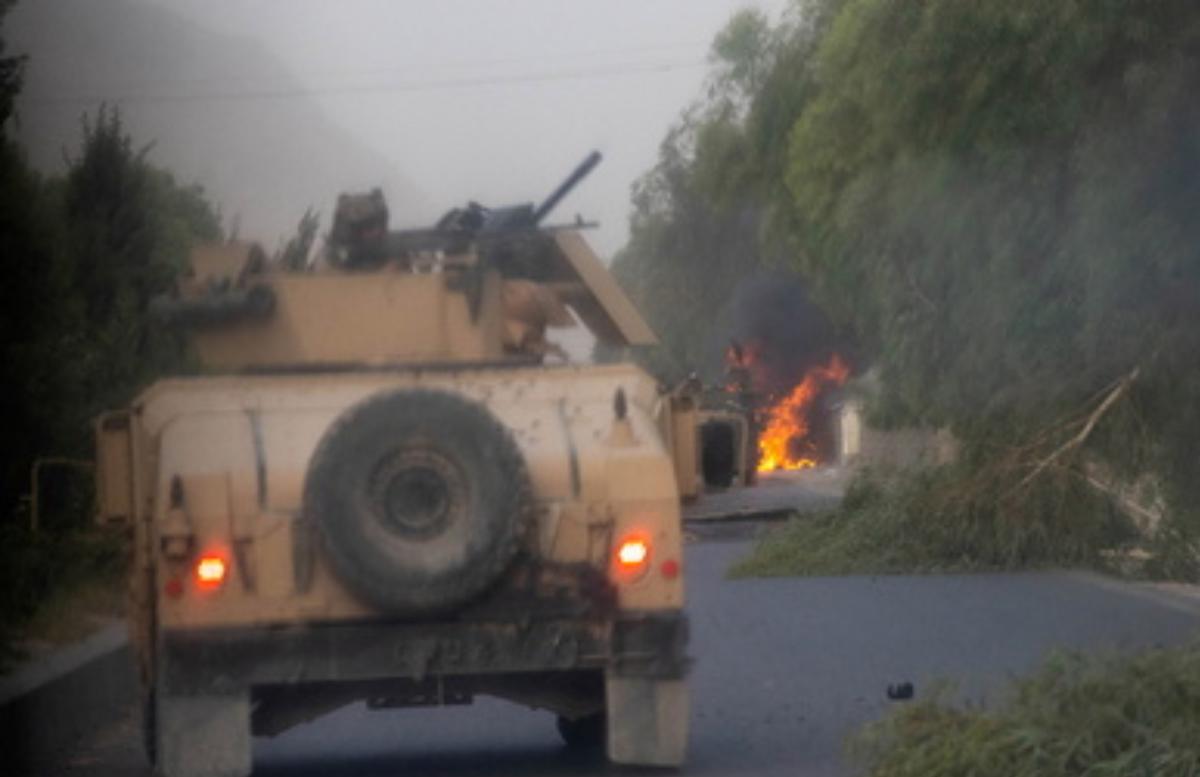 Боевики «Талибан» обстреляли аэропорт в Кандагаре