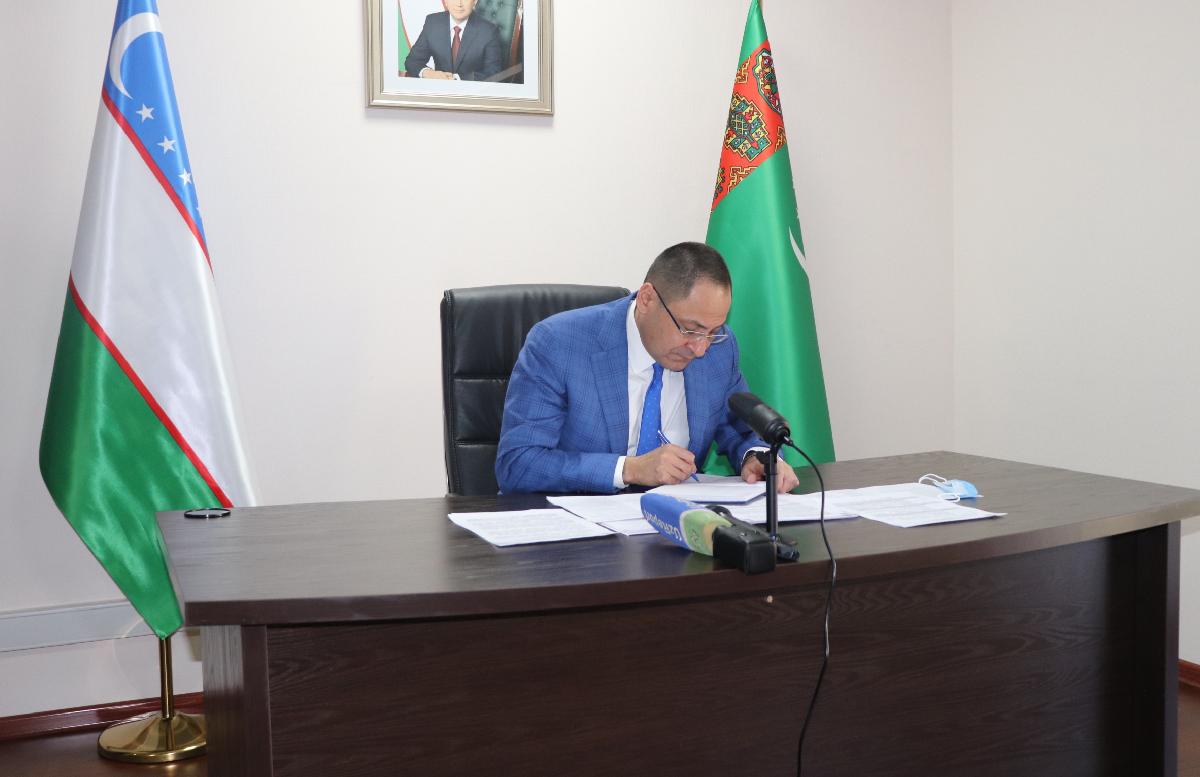 Вице-премьеры Туркменистана и Узбекистана переговорили в Ашхабаде
