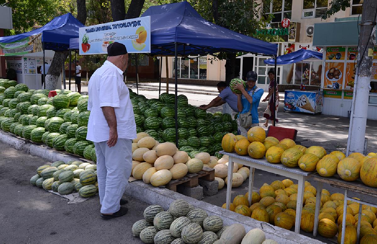 За полгода Узбекистан экспортировал дыни и арбузы на сумму свыше семи миллионов долларов