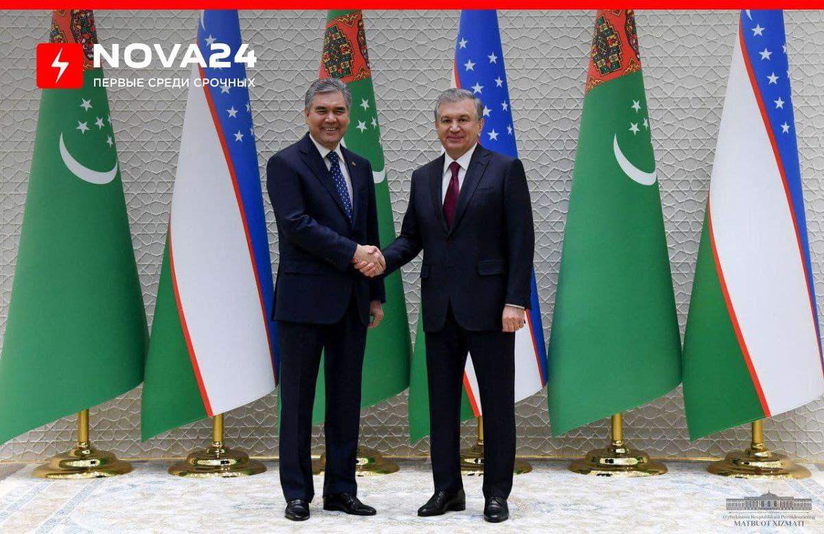 Бердымухамедов пригласил Мирзиёева в Туркменистан на саммит центральноазиатских стран