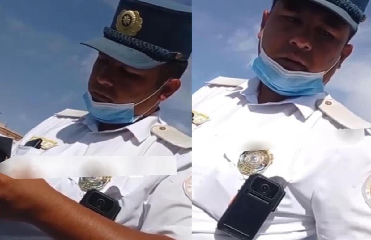 Кто нарушил?: Сотрудник ДПС получил замечание за «маску на подбородке»