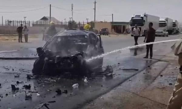 В Кашкадарье в результате ДТП заживо сгорели 4 человека