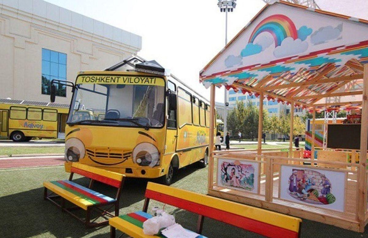 Во всех регионах Узбекистана создадут бесплатные мобильные детсады