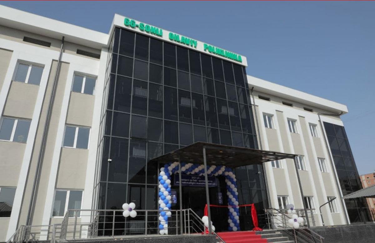 В одном из районов столицы открылась новая поликлиника