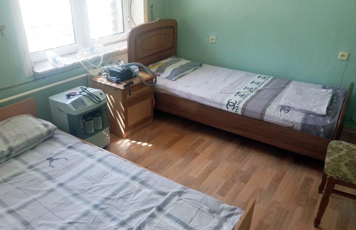 В Алмалыке гостиницу преобразовали в спецбольницу