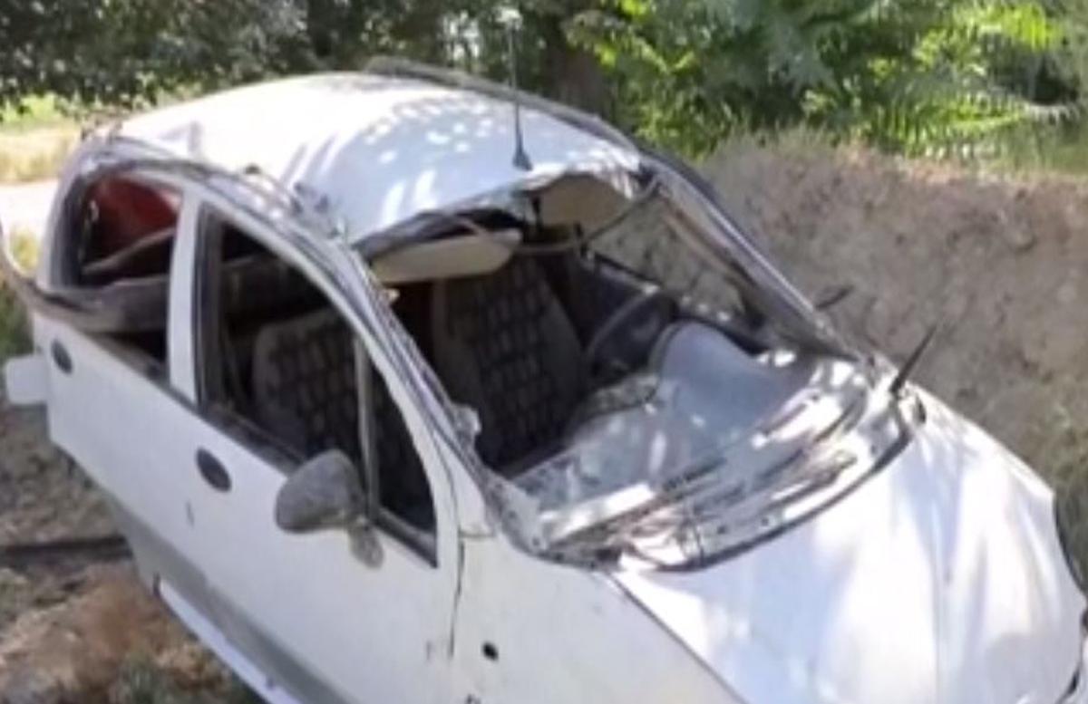 В Андижане под управлением подростка перевернулся Matiz: есть погибшие