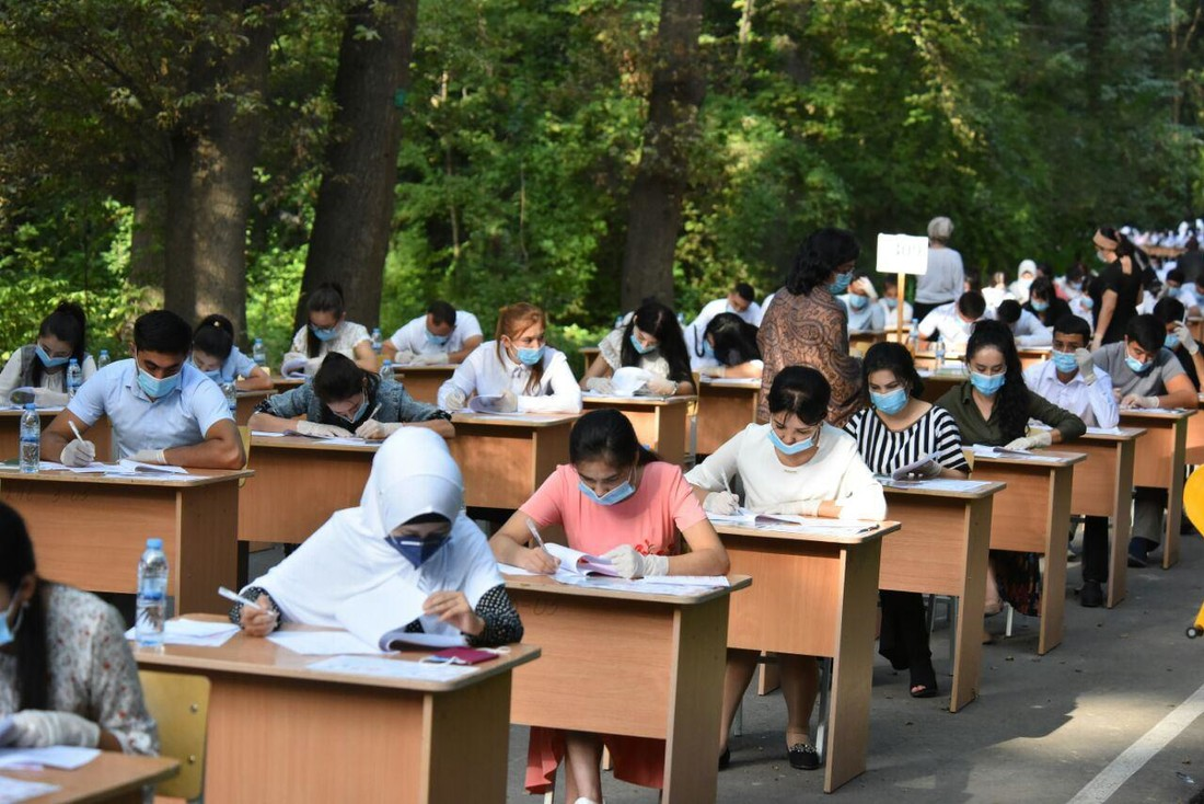 В одном из регионов страны более тысячи абитуриентов не явились на экзамены