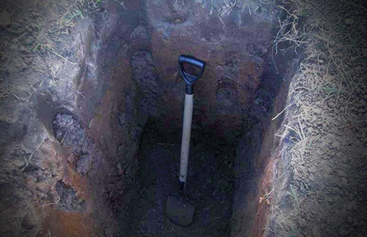 В Андижане мужчина забил камнем, зарезал и закопал возле дома своего соседа