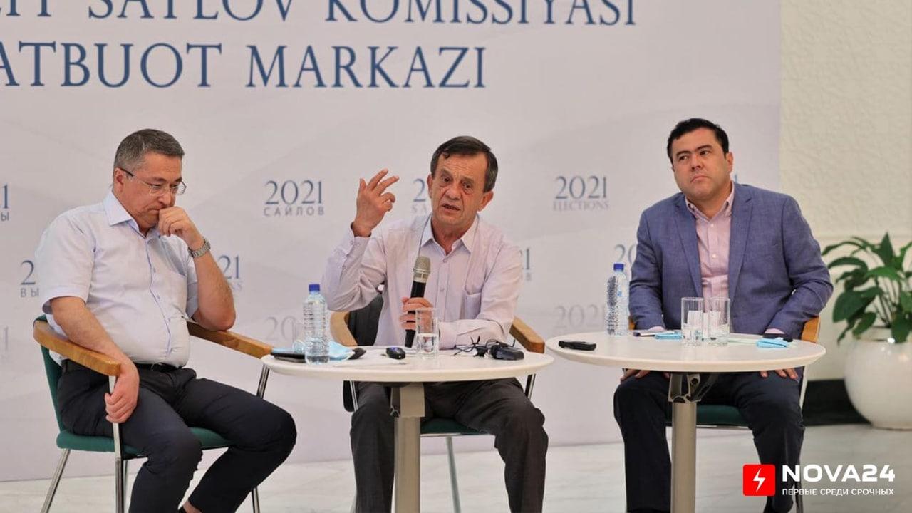 ЦИК проконтролирует, чтобы предвыборная кампания и нынешние обязанности Шавката Мирзиёева не смешивались