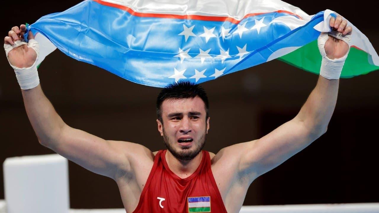 Третья золотая медаль: Баходир Жалолов стал Чемпионом Олимпийских игр — видео