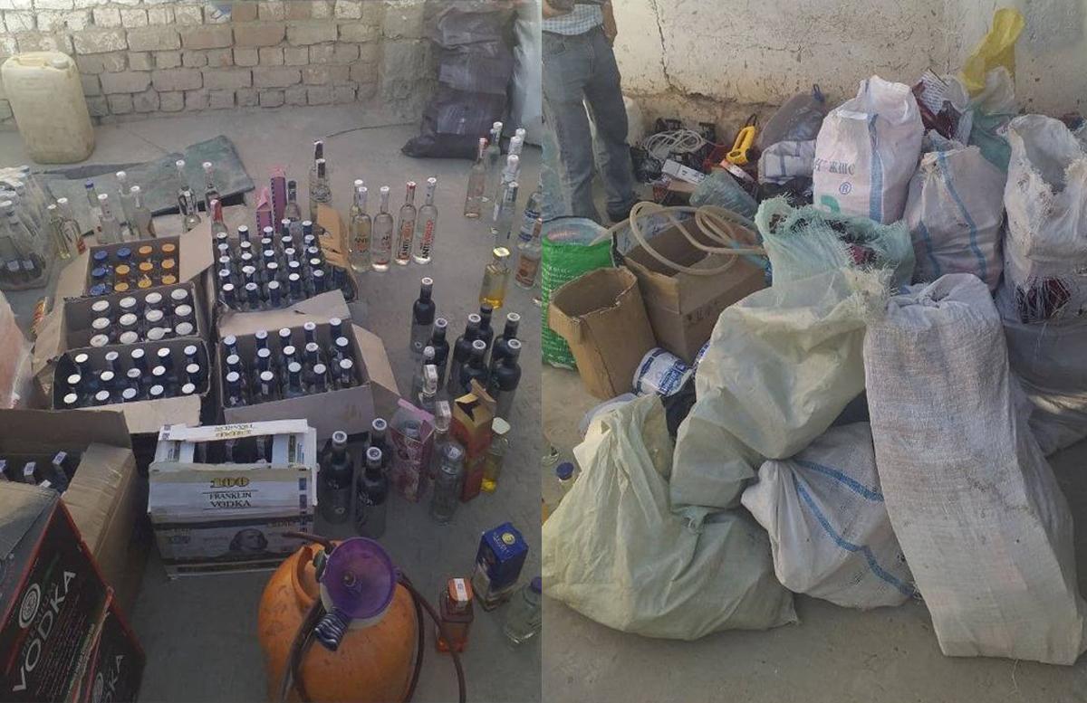 В Самаркандской области «накрыли» подпольный цех по производству водки