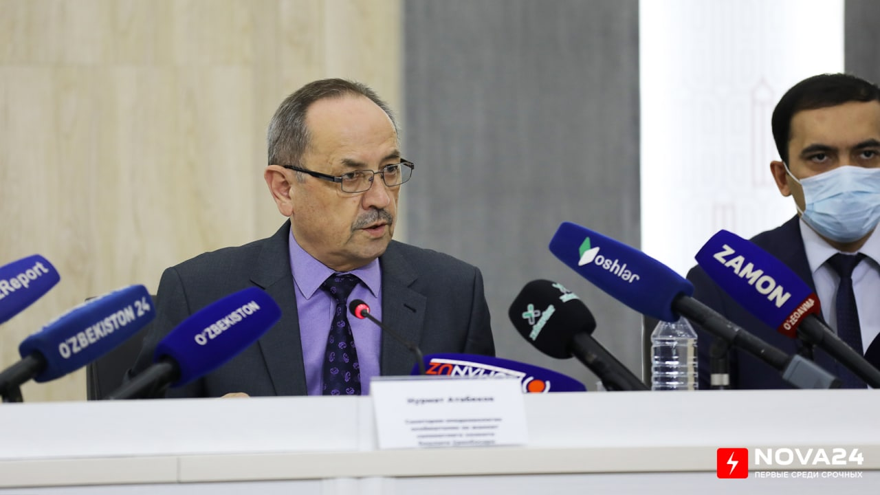 Нурмат Отабеков рассказал, есть ли в Узбекистане Yota штамм коронавируса