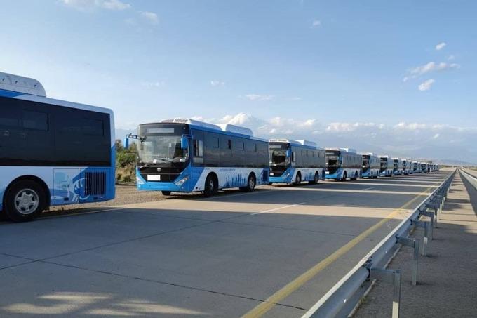 В Андижане закупят 70 автобусов из Китая для развития общественного транспорта