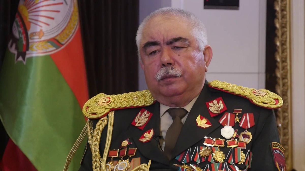 Выяснились подробности состояния афганского маршала Дустума