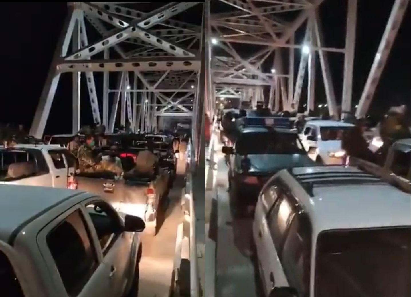 Афганские военные бегут в сторону Узбекистана после взятия талибами Мазари-Шариф — видео