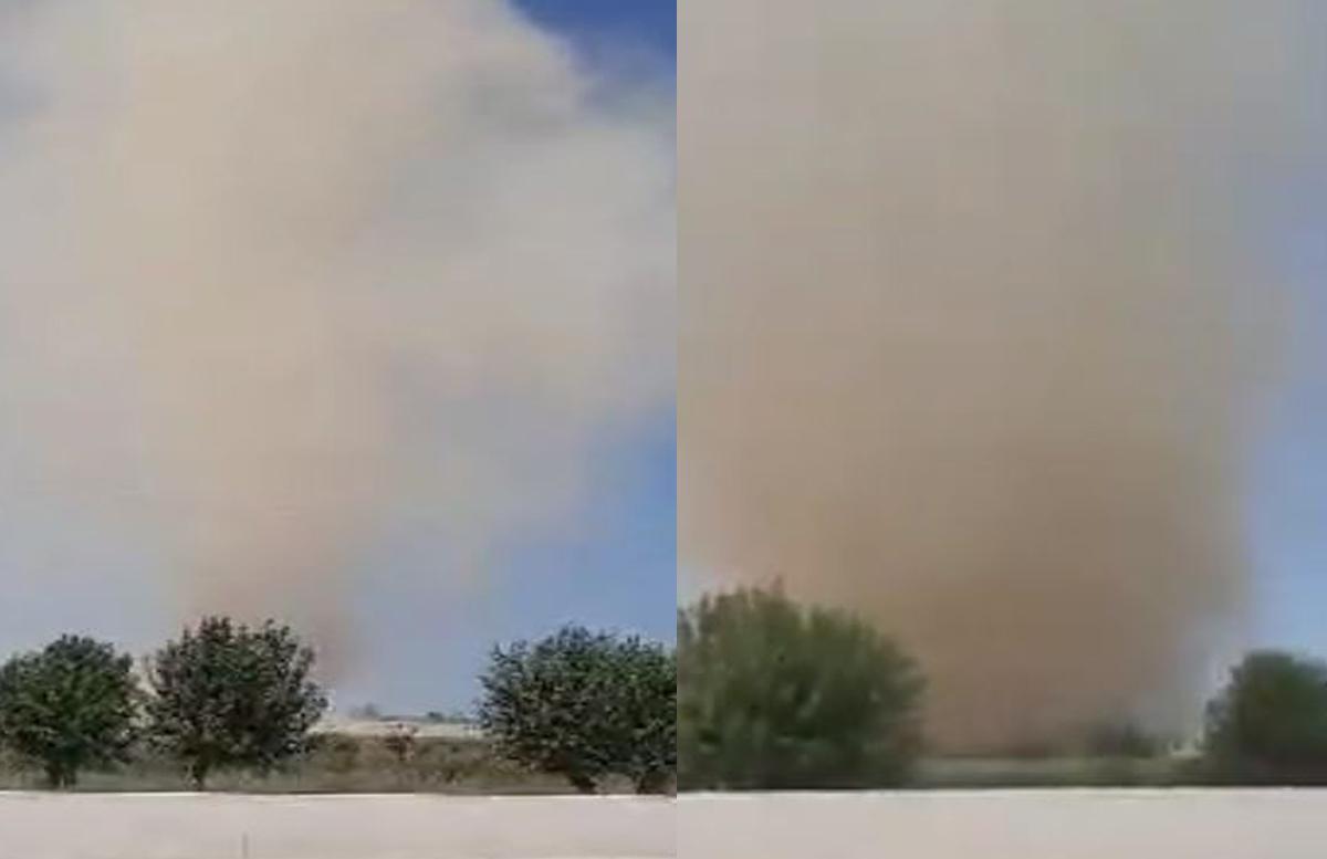 В Узгидромете прокомментировали прошедший в Сырдарье «торнадо».