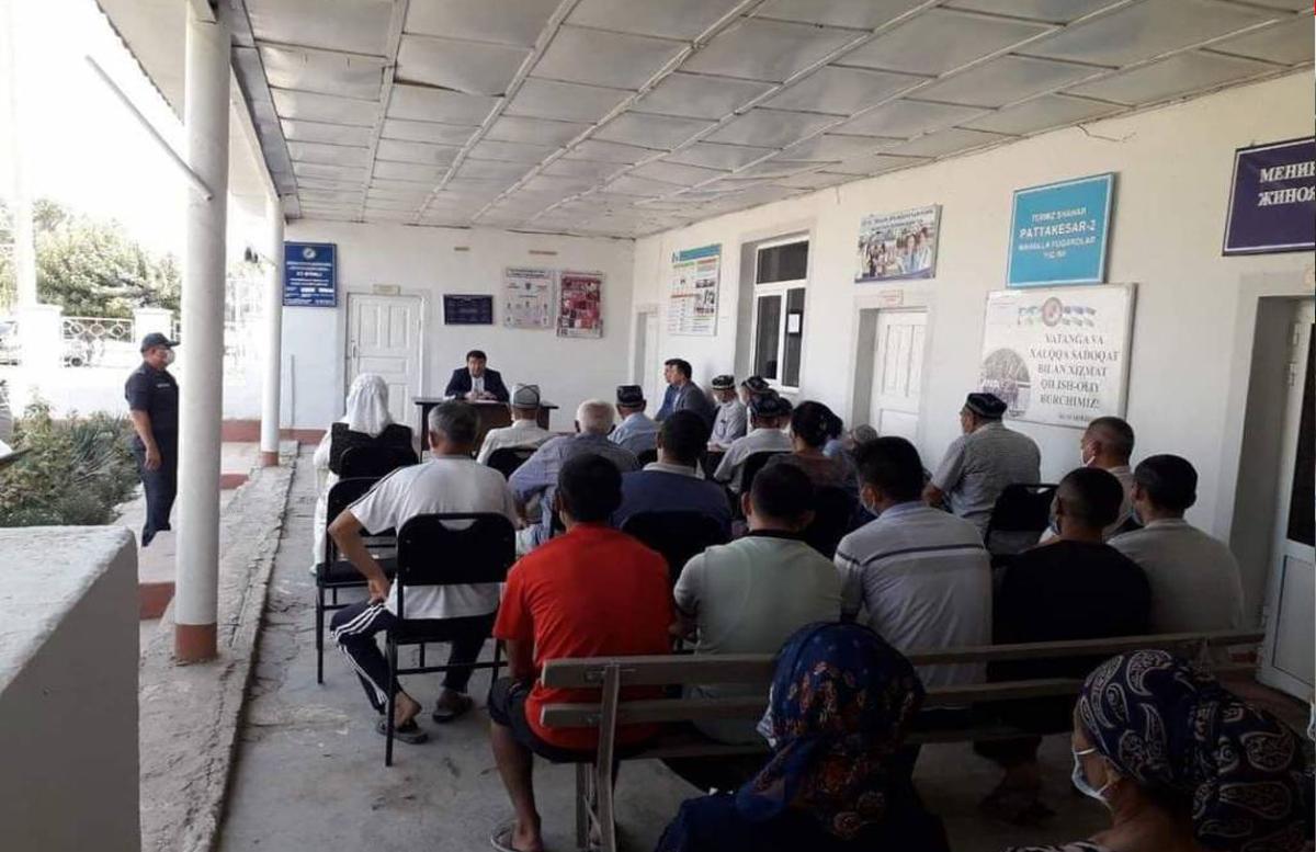 Хоким Сурхандарьи успокоил жителей, проживающих у границы с Афганистаном
