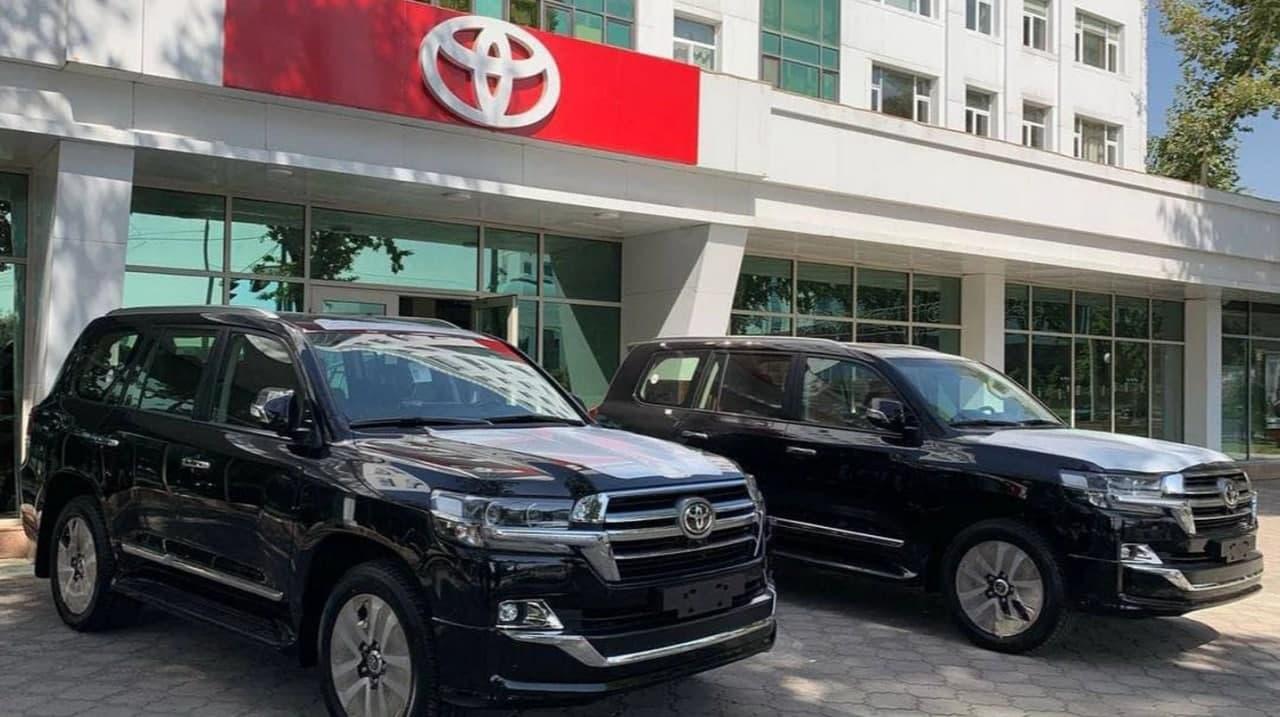 В столице предприниматель незаконно использовал логотип Toyota