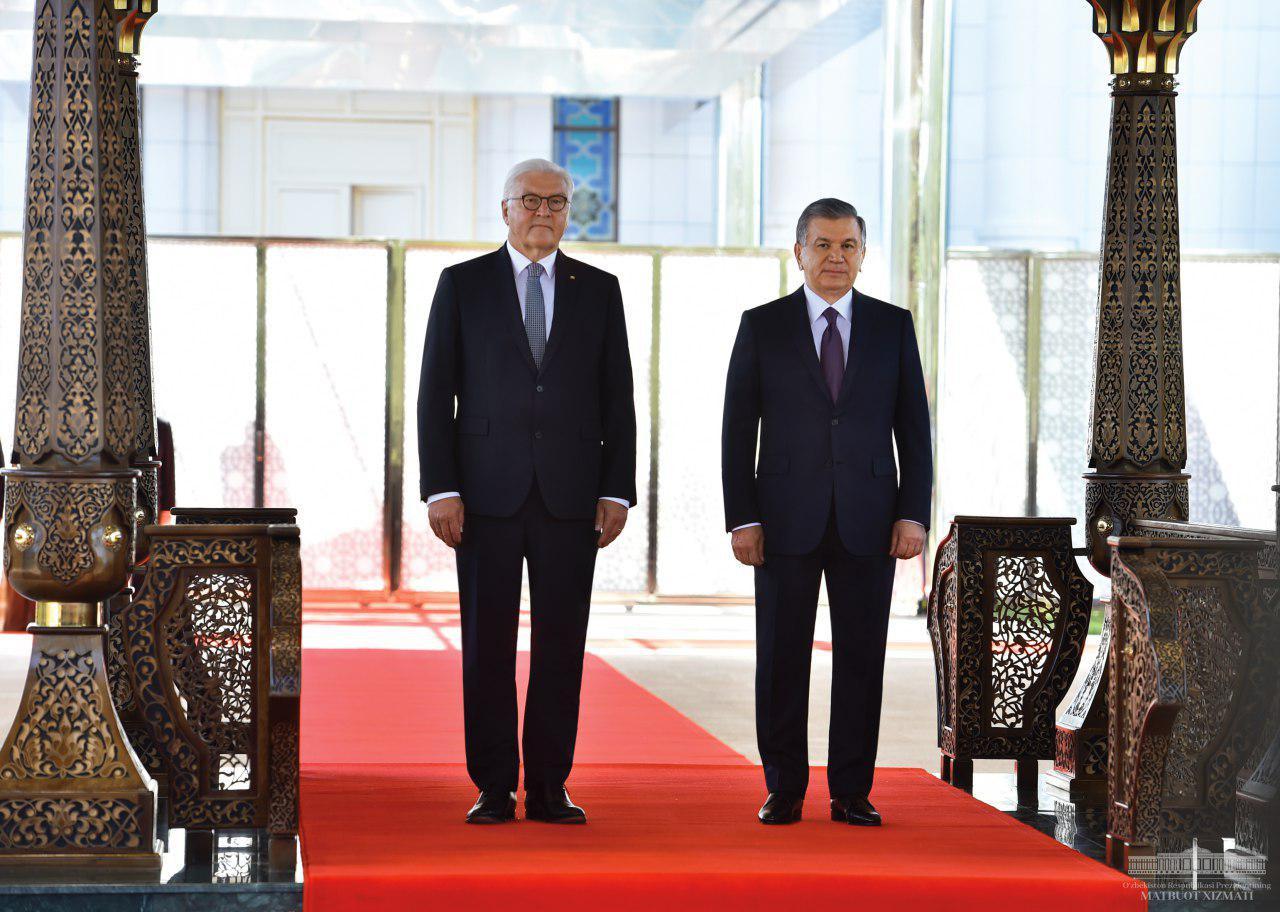 Шавкат Мирзиёев переговорил с президентом Германии