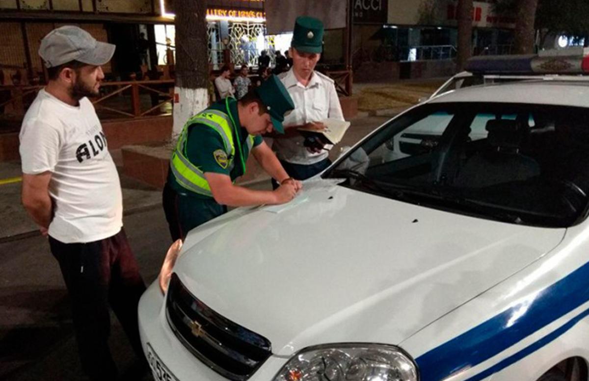 В Узбекистане с 1 сентября повысятся штрафы за нарушения ПДД