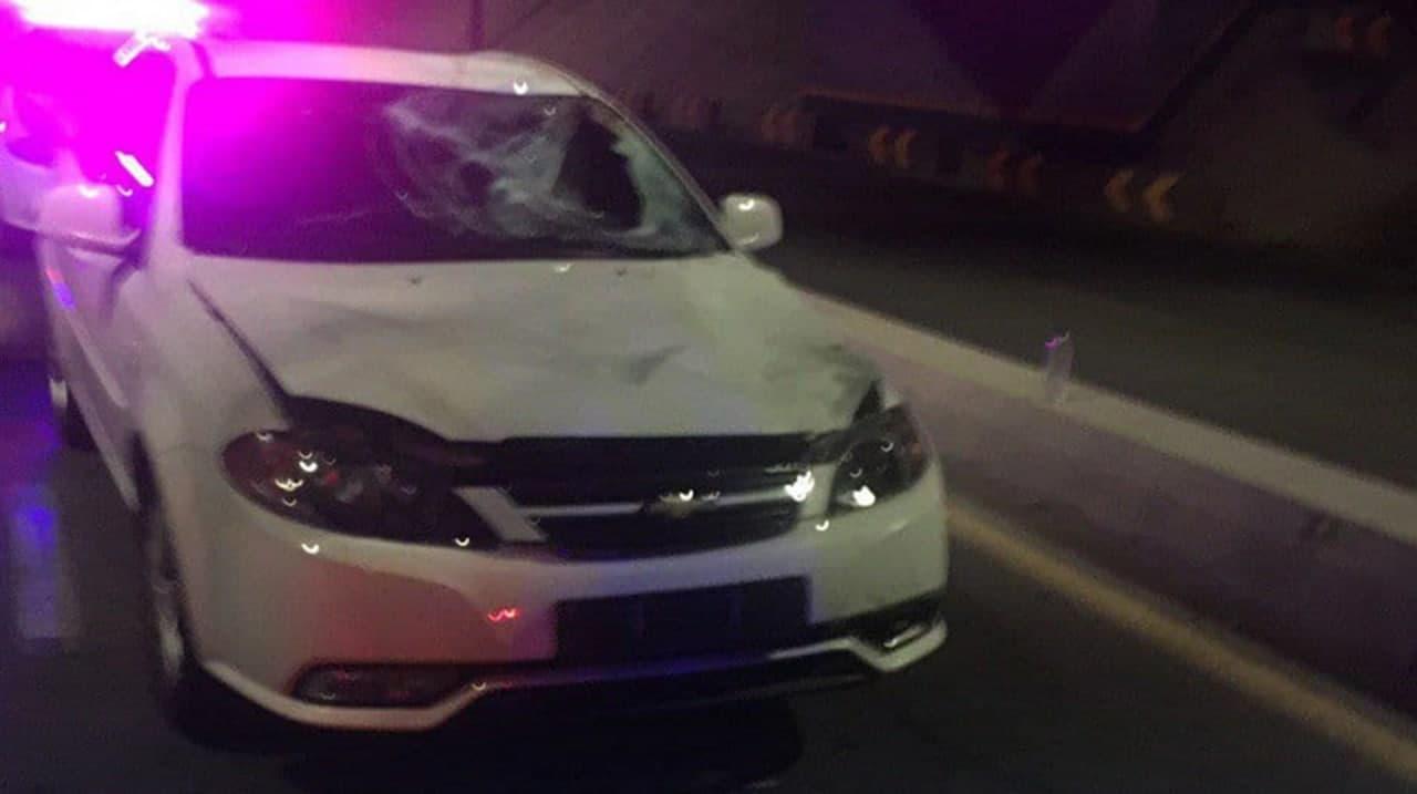 В столице водитель Lacetti сбил пьяного пешехода
