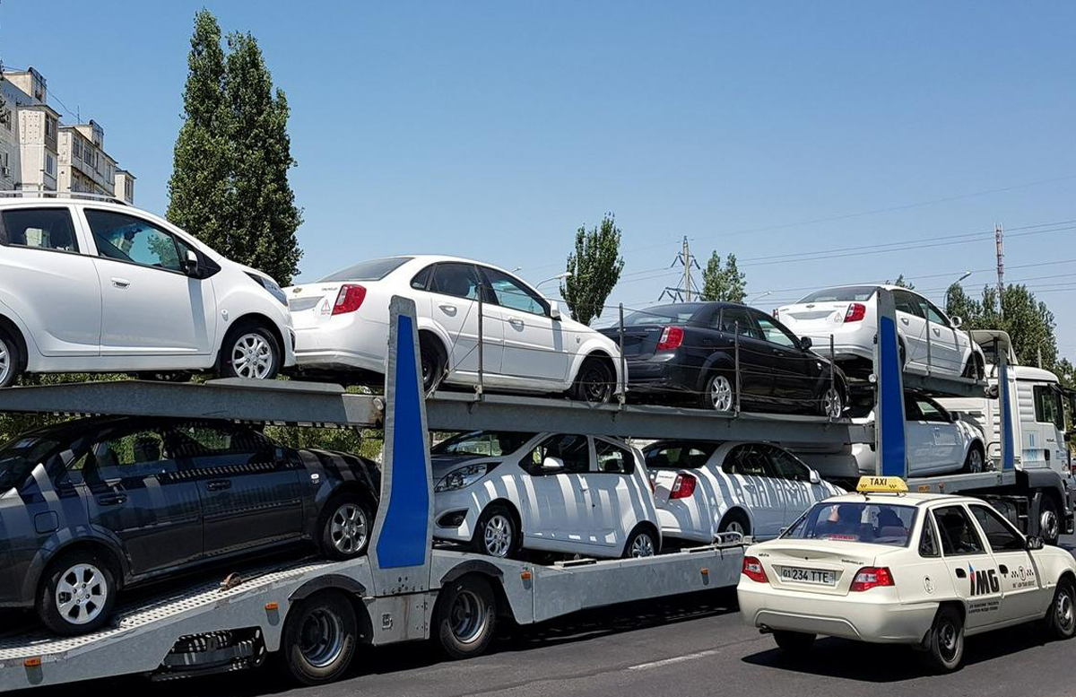 Экспорт автомобилей из Узбекистана вырос на 123 миллиона долларов