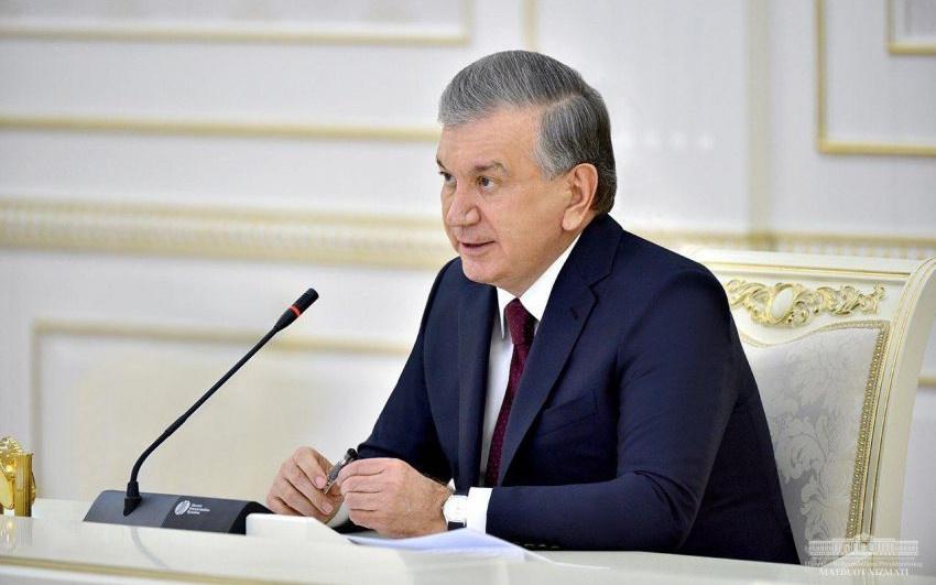 Шавкат Мирзиёев поблагодарил группу предпринимателей